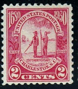 U.S. #683 Carolina-Charleston Issue, Used. HM, DG