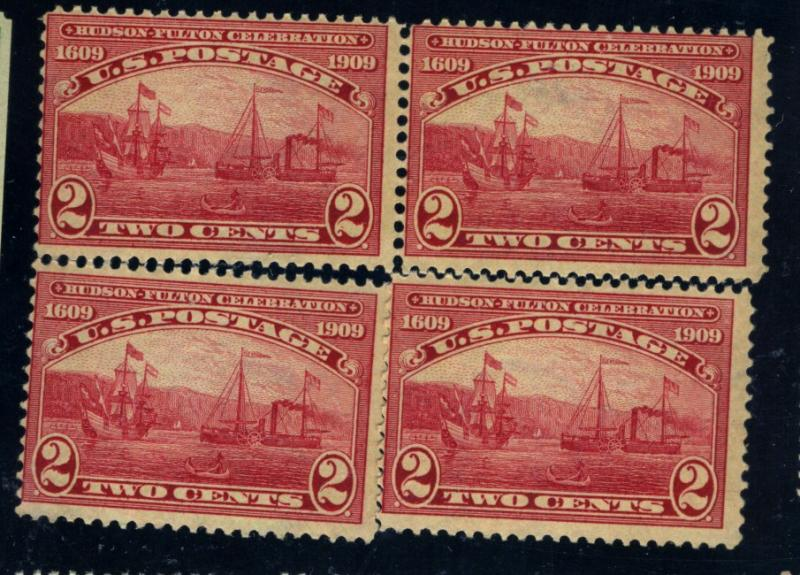 372 (4) MINT Fine OG NH/LH Pair LH Cat$62