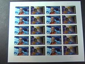 U.S.# 4527-4528(4528a)-MINT/NH--PANE OF 20---SPACE FIRSTS----2011