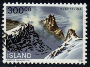 Iceland #737 Kverkfjoll Landscape, used (2.75)