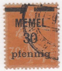 Memel, Scott # 21 (6), MH