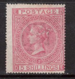 Great Britain #57 (SG #126) Mint **With Certificate**