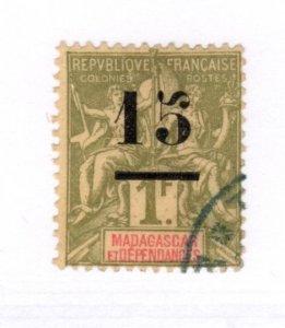 Madagascar #50 Used - Stamp CAT VALUE $8.75