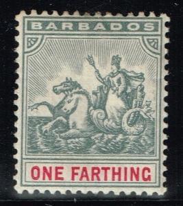 Barbados SG# 116 Mint Hinged - Lot 080215