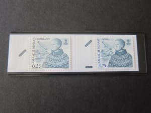Greenland 2000 Sc 364,368 Booklet MNH