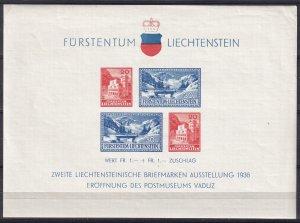 Liechtenstein #B14 MNH  CV $60.00 (Z4185L)