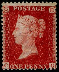 SG40, 1d rose-red, LC14, VLH MINT. Cat £50. CG