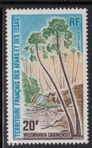 Afars & Issas 1975 MNH Scott #421 20fr Palm trees