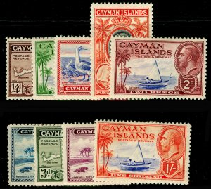 CAYMAN ISLANDS SG96-104, COMPLETE SET, M MINT. Cat £31. SHORT SET.
