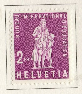 Switzerland Helvetia 1958 Early Issue Fine Mint Hinged 2F. NW-170870