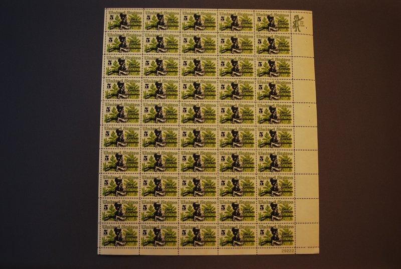 Scott 1330, Mint Sheet