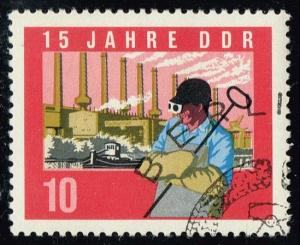 Germany DDR #730 Steelworker; CTO (0.30)