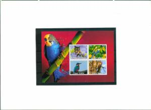 Cape Verde - BIRDS - S/S  imperf. MNH