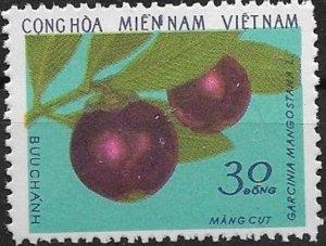 1976  Vietnam  NFL  Fruits of South Vietnam  Mitchel# 62 Used