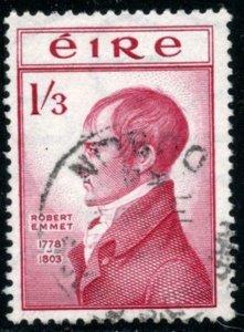 IRELAND Sc#150 SG#157 1953 1sh3p Robert Emmet High Value F-VF Used