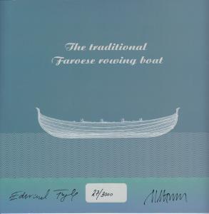 Faroe Islands MNH 2013 The Faroese Boat Limited Edition Folder #27