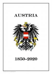 Austria 1850-2020  PDF(DIGITAL) STAMP ALBUM PAGES