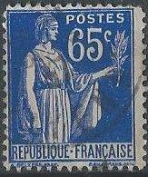 France 271 (used) 65c Peace with olive branch, brt ultra (1937)