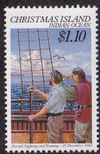 Christmas Island #249 Mint