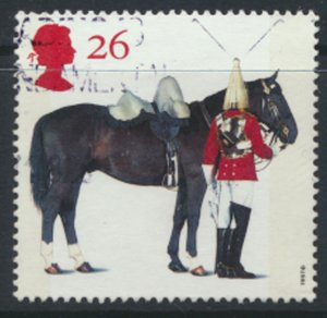 Great Britain  SG 1990  SC# 1764  Queen's Horses   Used see detail and scan