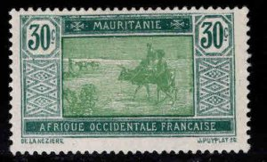 Mauritania Scott 33 MH* stamp