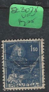 SWITZERLAND   (P1807BB)    SC 3O78     VFU