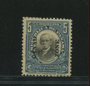 Canal Zone 57 Overprint MInt Stamp (Bx 68)