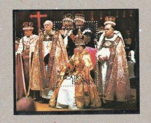 PN79) Pitcairn Islands 1978 25th Anniversary of the Coronation Minisheet MUH