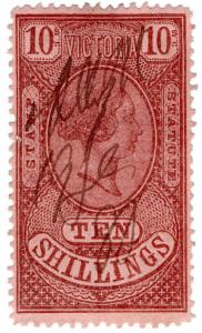 (I.B) Australia - Victoria Revenue : Stamp Statute 10/-