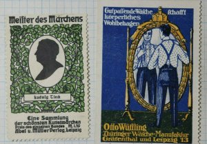 Orro Wutling Men's Fashion Manufacture German Brand Poster Stamp Ads