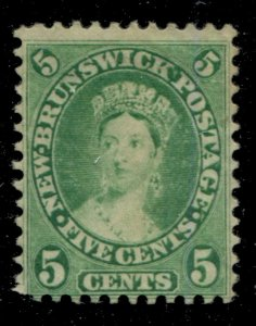 New Brunswick #8 SG 15 MNG F 5c Cents Issue [N4478] CV=$7.50