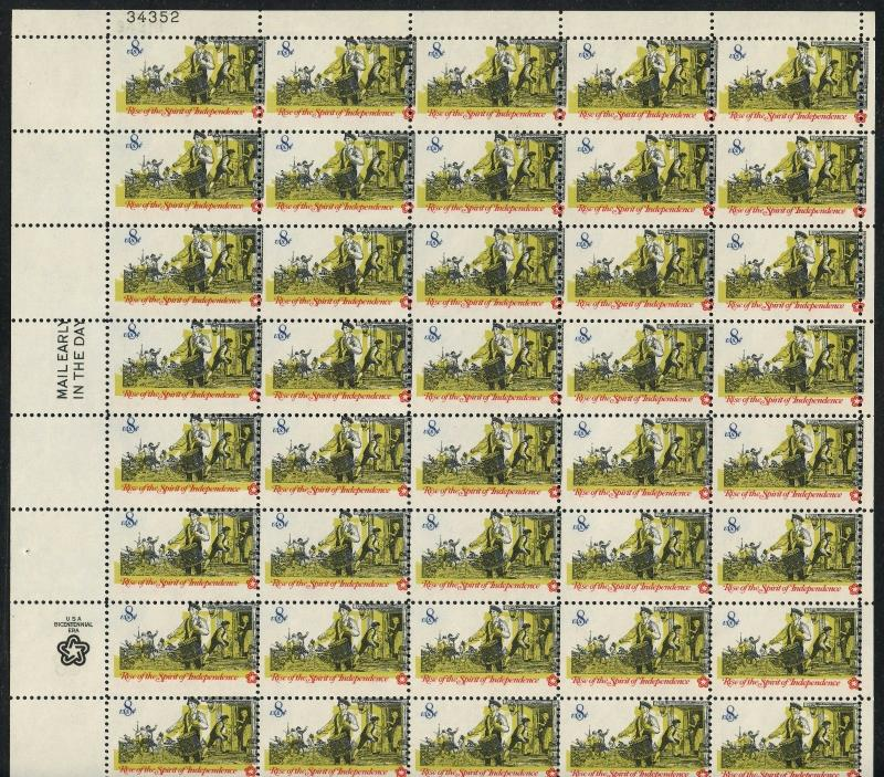 #1479 VAR SPIRIT OF INDEPENDENCE  COLOR SHIFT ERROR SHEET/50 2-WAY WLM1545