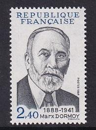 France   #1942   MNH  1984  Marx Dormoy . politician
