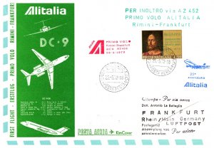 Vatican City, First Flight
