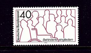 Germany 1133 MNH 1974 issue