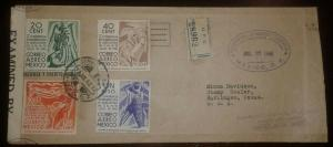 O) 1942 MEXICO, CENSORSHIP-EXAMINED, AGRICULTURAL-INTER AMERICAN CONFERENCE,COFF