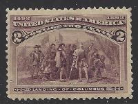 United States Scott # 231 MNH