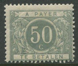 STAMP STATION PERTH Belgium #J16 Postage Due 1916 MVLH CV$135.00