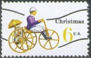 1417a Christmas precancel F-VF MNH single