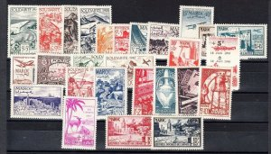 French Morocco -Mint NH sets (Catalog Value $64.70) [R_1421]