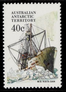 AUSTRALIA - Antarctic Territory QEII SG48, 1979 40c kista dan, NH MINT.