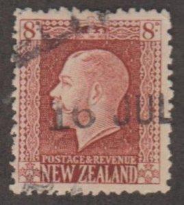 New Zealand Scott #157 Stamp - Used Single