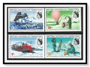 British Antarctic Territory #20-23 Scientific Work Set MH