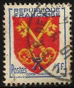 France 1955 Scott# 785 Used