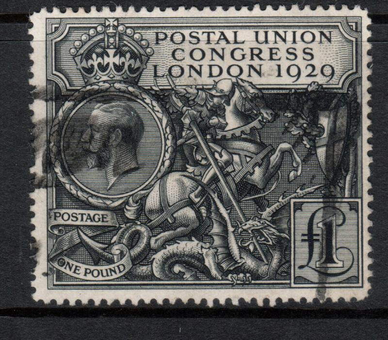 Great Britain #209 Very Fine Used