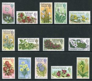 Falkland Is SG232/45 1968 Flowers set U/M