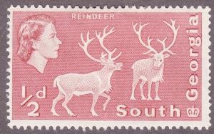 South Georgia 1 Reindeer 1963