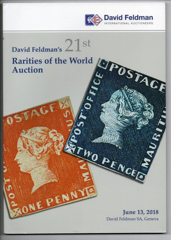 2018 Rarities of the World Auction Catalog David Feldman