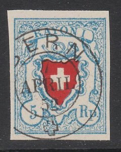 SWITZERLAND  An old forgery of a classic stamp - ...........................B305