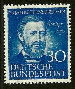 Doyle's_Stamps: German Federal Republic 1952 Mint Scott #693**  (L16)